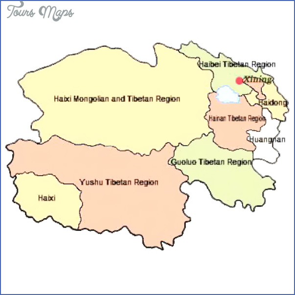 qinghai map 9 Qinghai Map