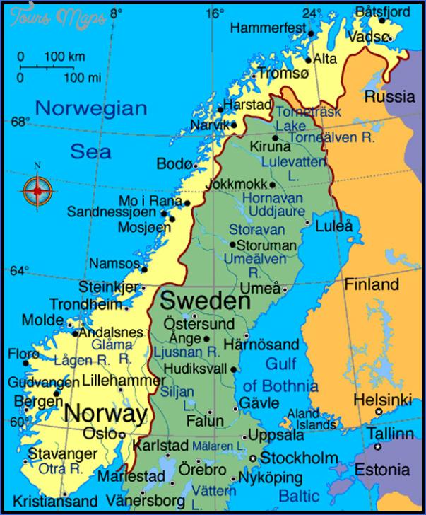 romsdal norway map 5 Romsdal Norway Map