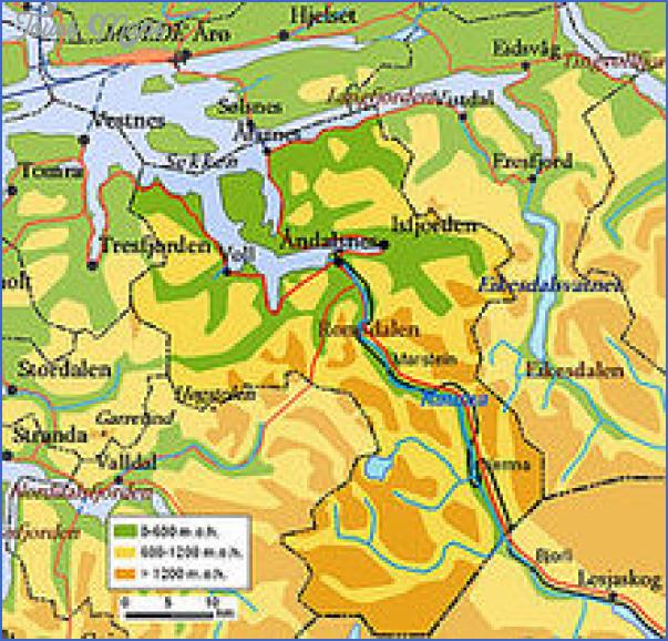 romsdal norway map 9 Romsdal Norway Map