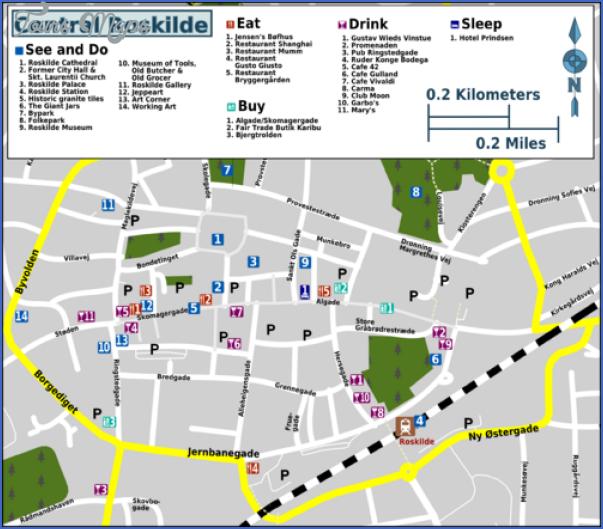 roskilde denmark map 6 Roskilde Denmark Map