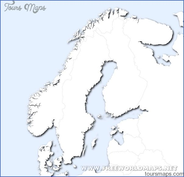Scandinavia Map - ToursMaps.com ®