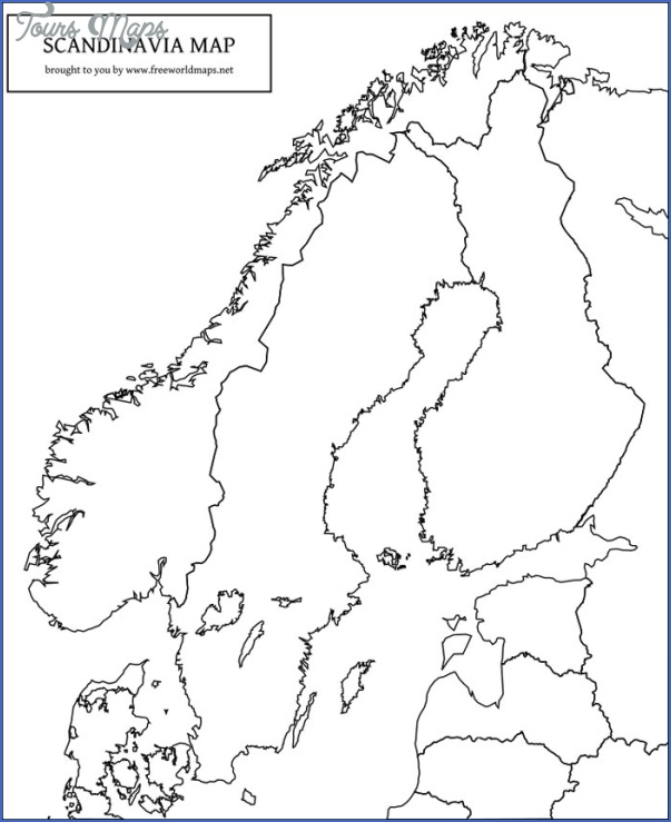 It's just a picture of Playful Scandinavia Map Printable