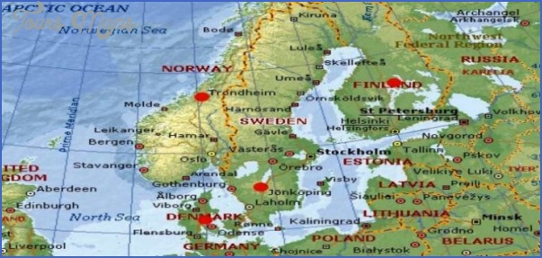 scandinavia map 720x340 728x344 Scandinavia Map Tourist Attractions