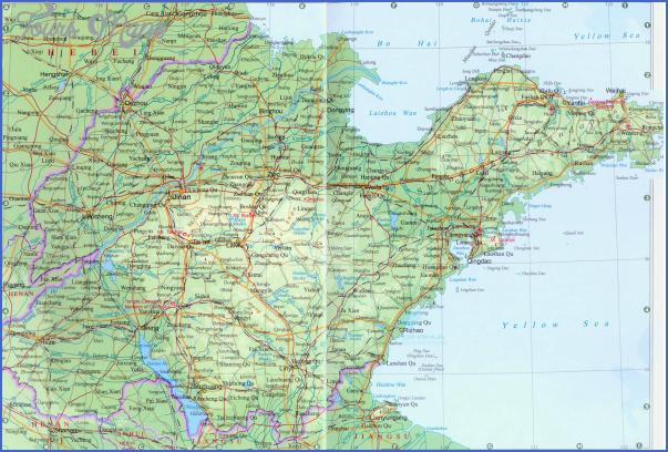shandong map 0 Shandong Map