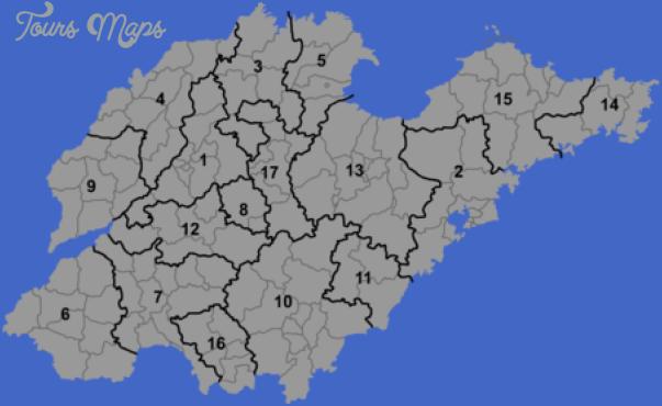shandong map 10 Shandong Map