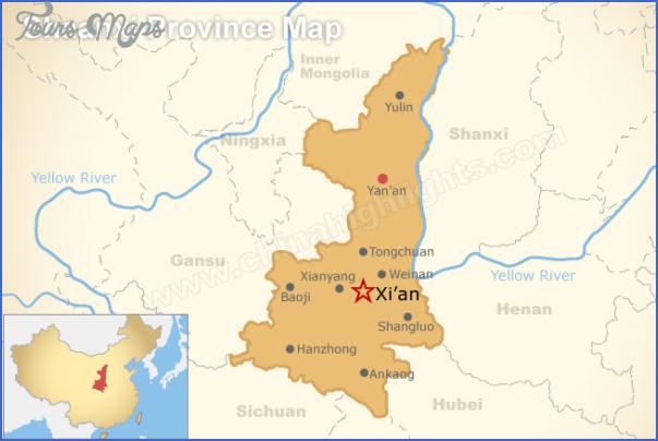 shanxi map 7 Shanxi Map