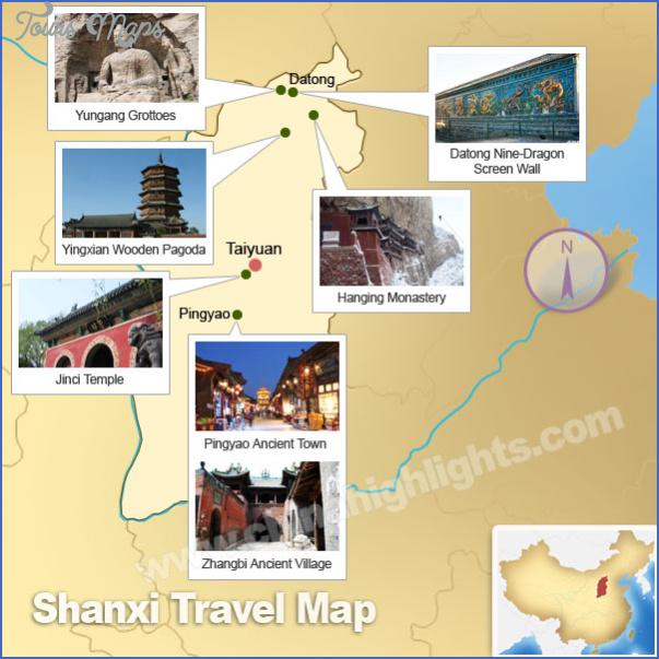shanxi map 8 Shanxi Map