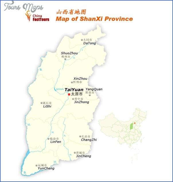 shanxi map 9 Shanxi Map