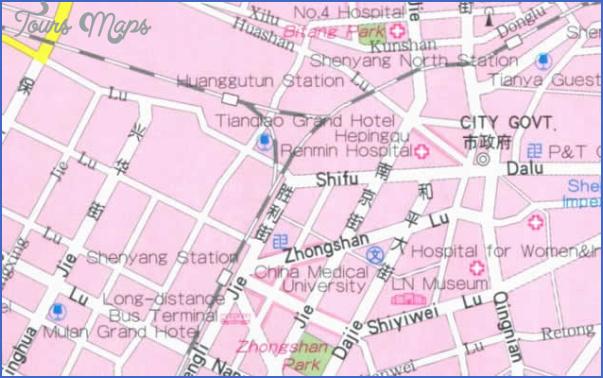 shenyang map 10 Shenyang Map