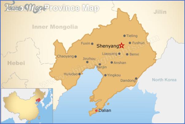 shenyang map 3 Shenyang Map