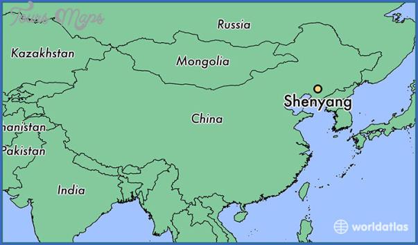 shenyang map 4 Shenyang Map