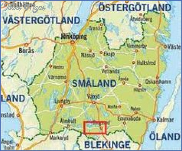 Smaland Sweden Map - ToursMaps.com ® on jämtland, södermanland,