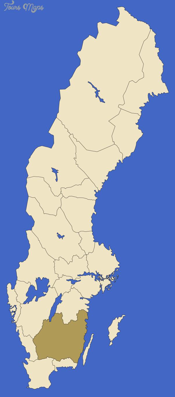 smaland sweden map 2 Smaland Sweden Map