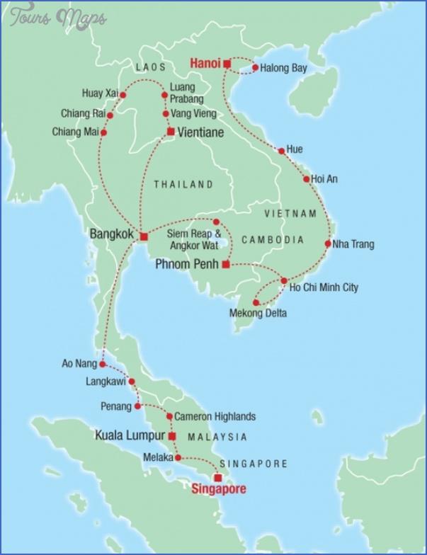 south asia travel map 5 South asia travel map