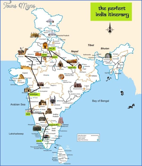 Southeast asia travel route map - ToursMaps.com ®