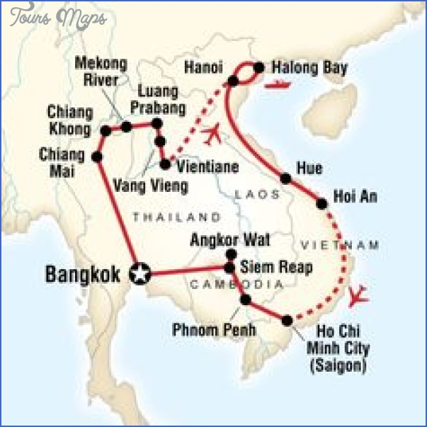 southeast asia travel route map 8 Southeast asia travel route map