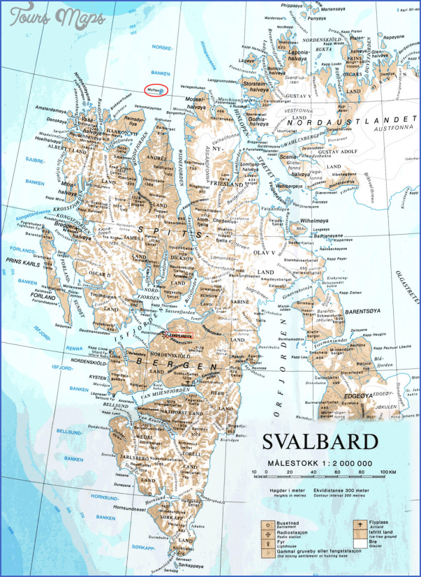 spitzbergen svalbard map 10 Spitzbergen Svalbard Map