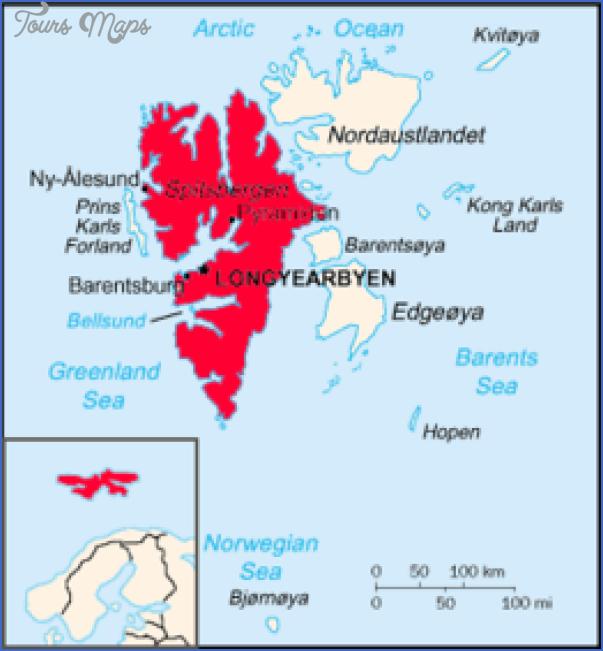 spitzbergen svalbard map 9 Spitzbergen Svalbard Map