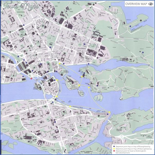 stockholm map 0 Stockholm Map