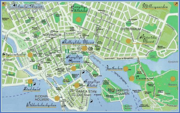 stockholm map 2 Stockholm Map