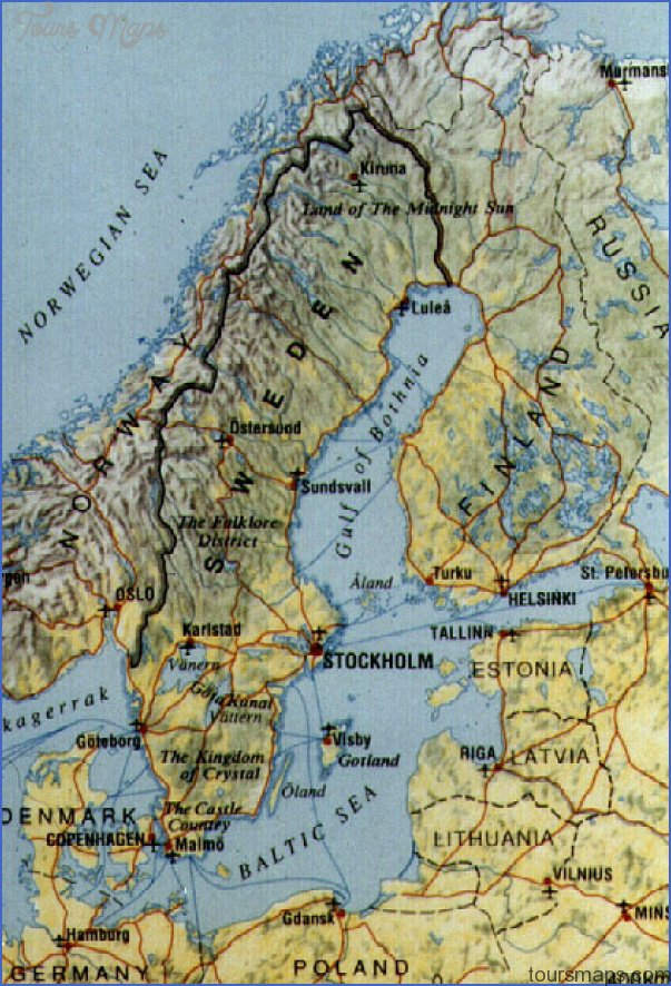 Sundsvall Sweden Map Map Travel Holiday Vacations - Sweden map sundsvall