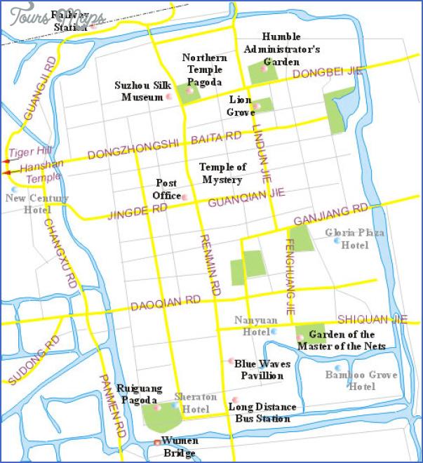suzhou map 4 Suzhou Map