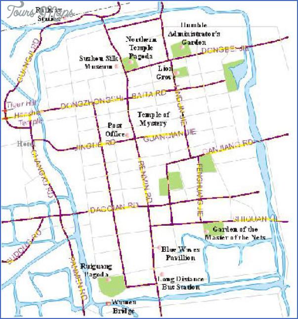 suzhou map 9 Suzhou Map
