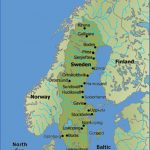 sweden map 150x150 Scandinavia Map Tourist Attractions