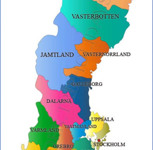 Sweden Famous Things To Buy Archives Map Travel Holiday - Sweden map tourist