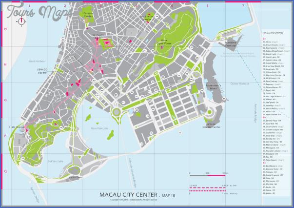 taipa and coloane map 14 Taipa and Coloane Map
