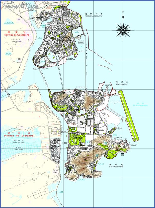 taipa and coloane map 2 Taipa and Coloane Map
