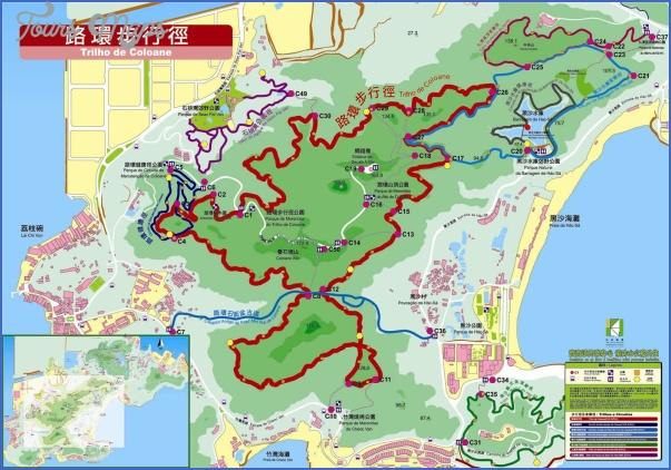 taipa and coloane map 20 Taipa and Coloane Map