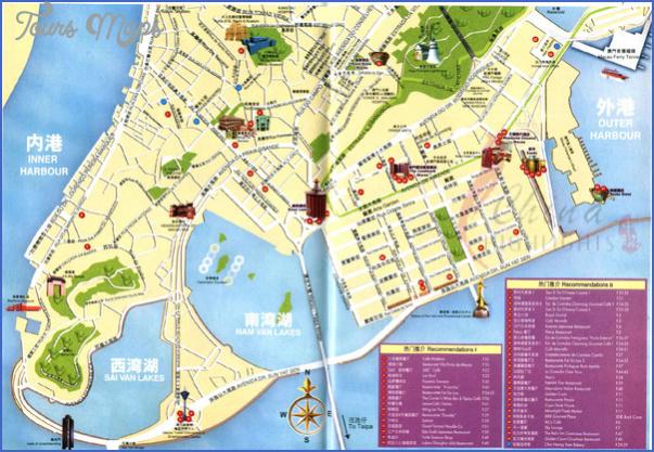 taipa and coloane map 6 Taipa and Coloane Map