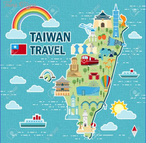 Taiwan Map Asia Archives Map Travel Holiday Vacations - Taiwan map