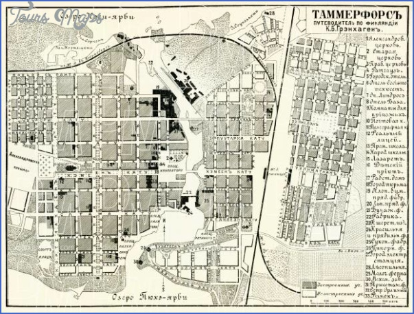 tampere tammerfors finland map 1 Tampere Tammerfors Finland Map