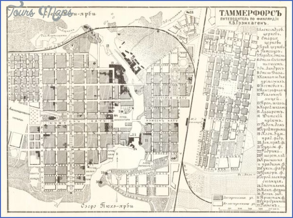 tampere tammerfors finland map 2 Tampere Tammerfors Finland Map