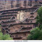 the maijishan grottoes the maijishan grottoes are the fourth largest cg3a8g 150x150 Grottoes of Maijishan Maijishan Shiku