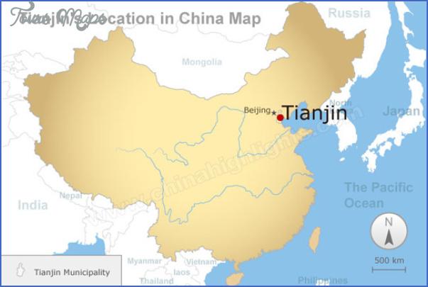 tianjin map 6 Tianjin Map