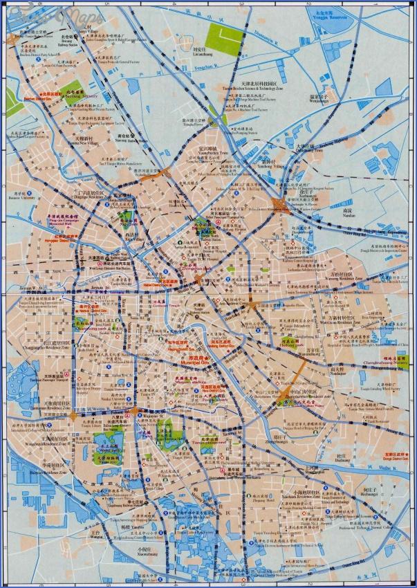 tianjin map 9 Tianjin Map