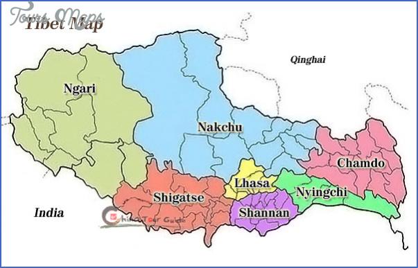 tibet map Tibet Map