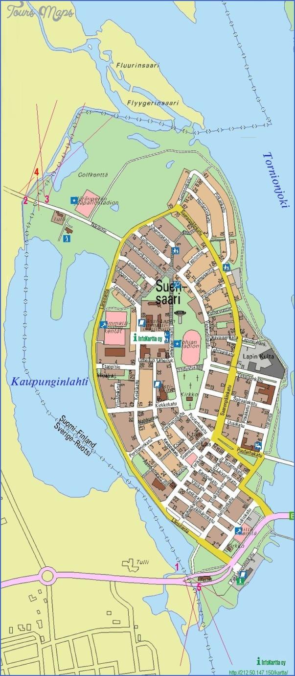 tornio tornea finland map 2 Tornio Tornea Finland Map