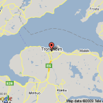 trondheim norway map 10 150x150 Trondheim Norway Map