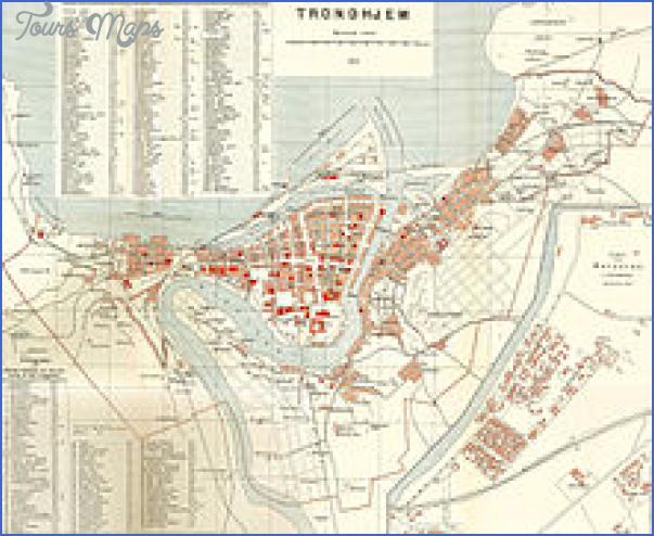 trondheim norway map 8 Trondheim Norway Map