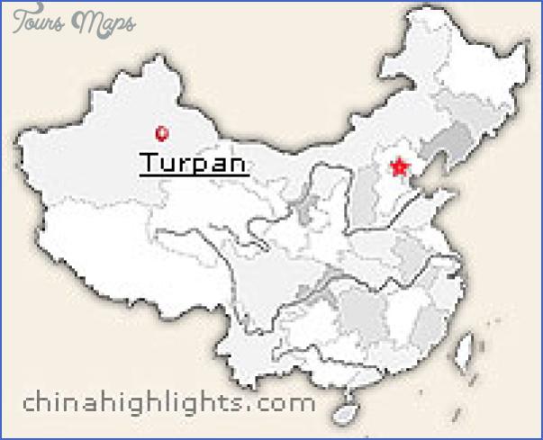 turpan map 12 Turpan Map
