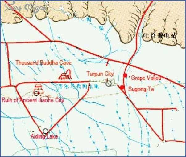 turpan map 13 Turpan Map