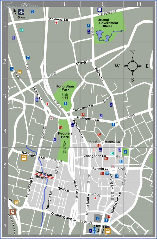 turpan map 5 Turpan Map