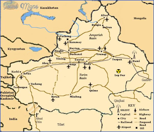 turpan map 6 Turpan Map