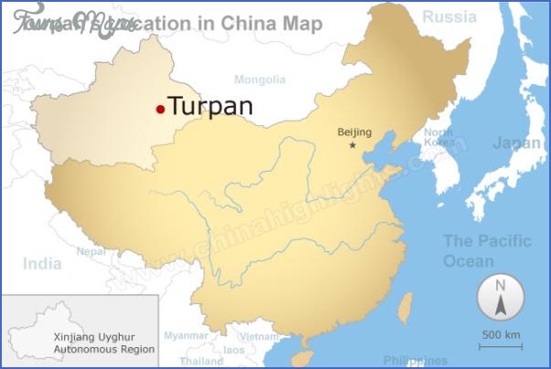 turpan map 7 Turpan Map
