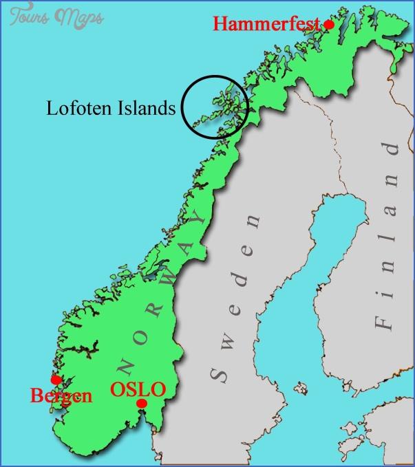 vesteralen norway map 1 Vesteralen Norway Map