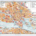vintage 1920 map stockholm 150x150 Stockholm Map